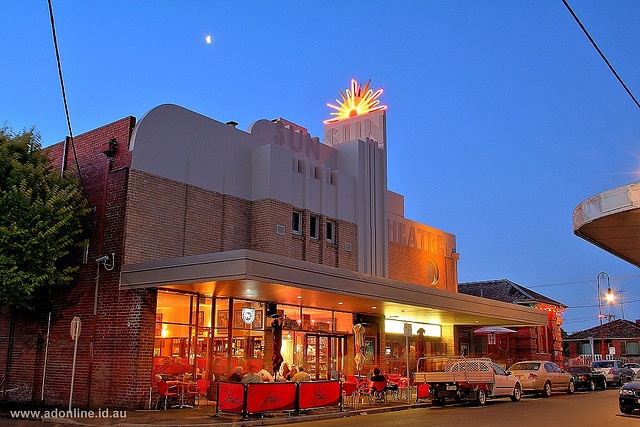 The Sun Theatre in the Melbourne suburb of Yarraville.    HDR photo taken on a Canon EOS 350D and merged using 3 exposures 2.0 EV apart.     Be Green With Your Planet,Your Neighborhood. YOU ARE IMPORTART!!