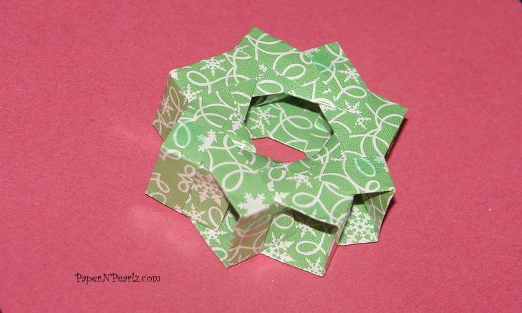 Origami Square 3D Ring