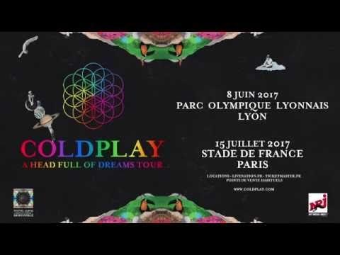 Coldplay | Parc Olympique Lyonnais Décines-charpieu le 8 juin 2017 | Concert