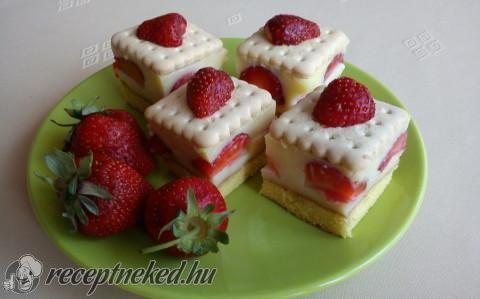 Epres kekszes süti