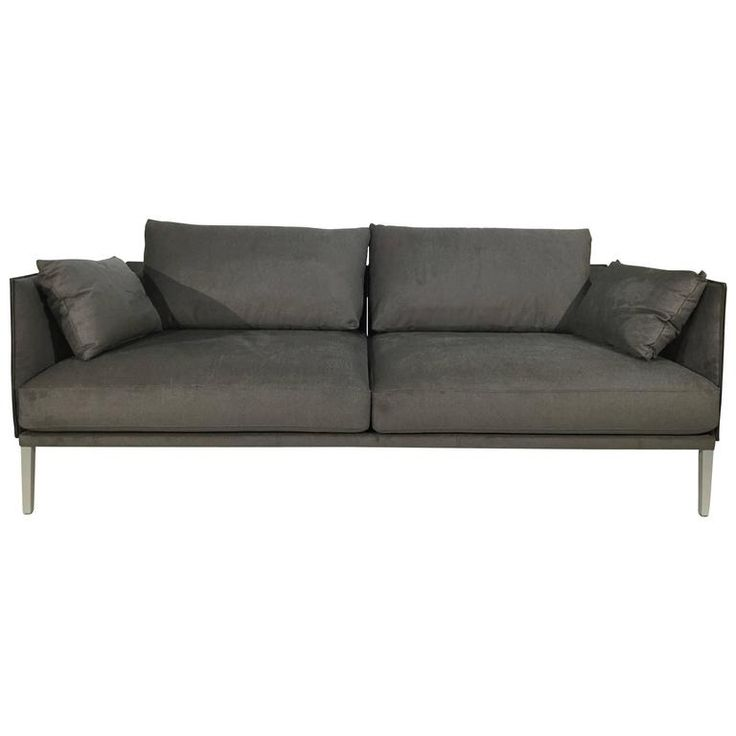 De Sede DS-333/123 Sofa in Fabric/Saddle Leather Artisano Cigarro Combo | From a unique collection of antique and modern sofas at https://www.1stdibs.com/furniture/seating/sofas/