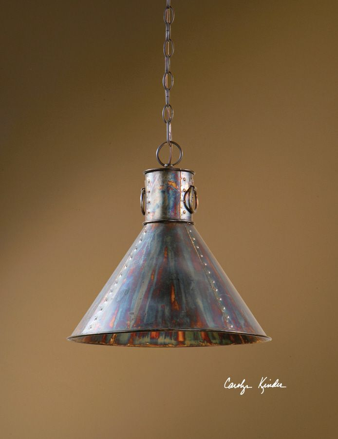Rustic Pendant Light Hanging Chandelier Lighting Oxidized Metal Ideas For My Kitchen Island Pinterest