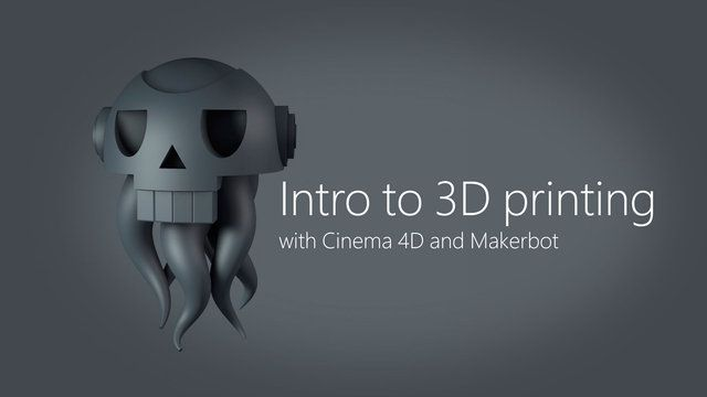 Tutorial for 3D printing from a Cinema 4D file.