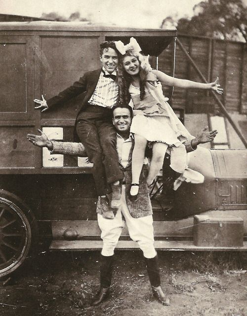 Charlie Chaplin, Douglas Fairbanks, & Mary Pickford
