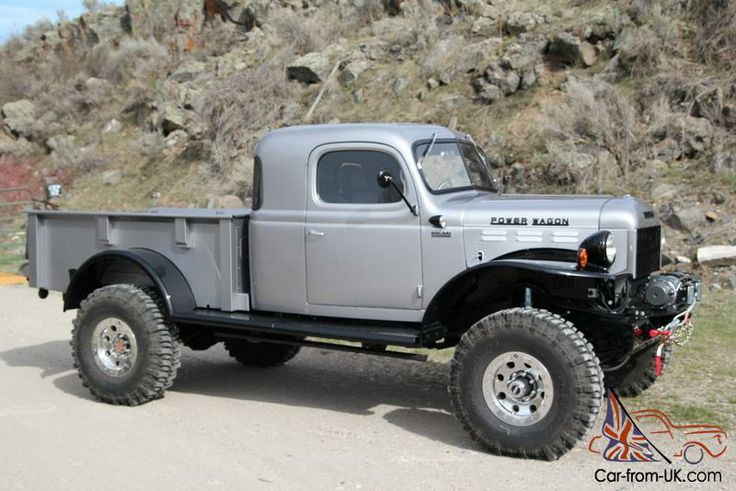 DODGE POWER WAGON, LEGACY POWER WAGON, EXTENDED CAB