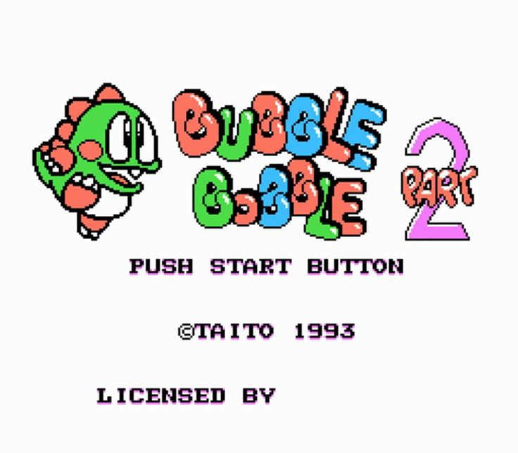 Bubble Bobble Part 2 72 Pins Game Card For 8 Bit Game Player #Affiliate