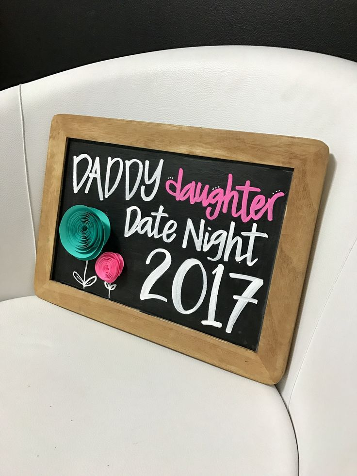 #Chalkboard #Photobooth #prop made for Father Daughter dance at Evansville Country Club. OMG their evbt director is amazing #Lindsaytallrocks