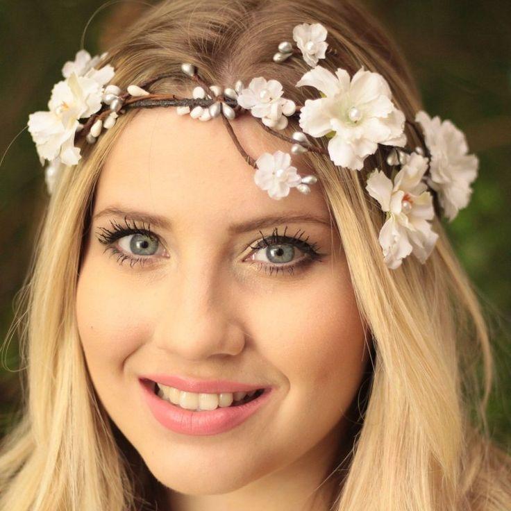 acessório, casamento, flower crown, coroa de flores, tiara de flores, coroa de…