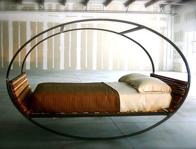 Oooh yes. Mood Rocking Bed by Shiner International