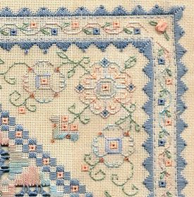 Two-Handed Stitcher: Another Hardanger Piece