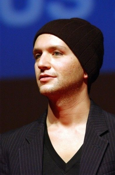 Look at his eyes!<3  Brian Molko