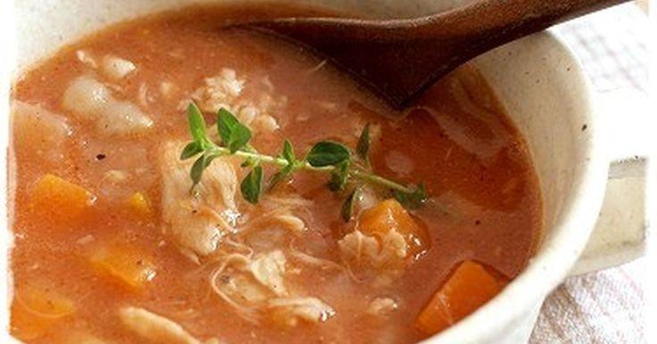寒い夜にチキンの旨みたっぷりのスープで温まります。