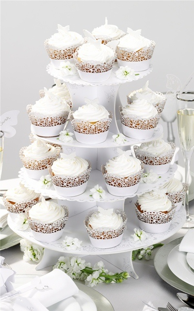make own wedding cake stand make your own wedding cupcakes with these pretty cupcake 16989