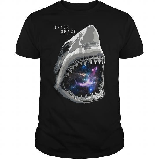 Cool Shark with inner space T shirts