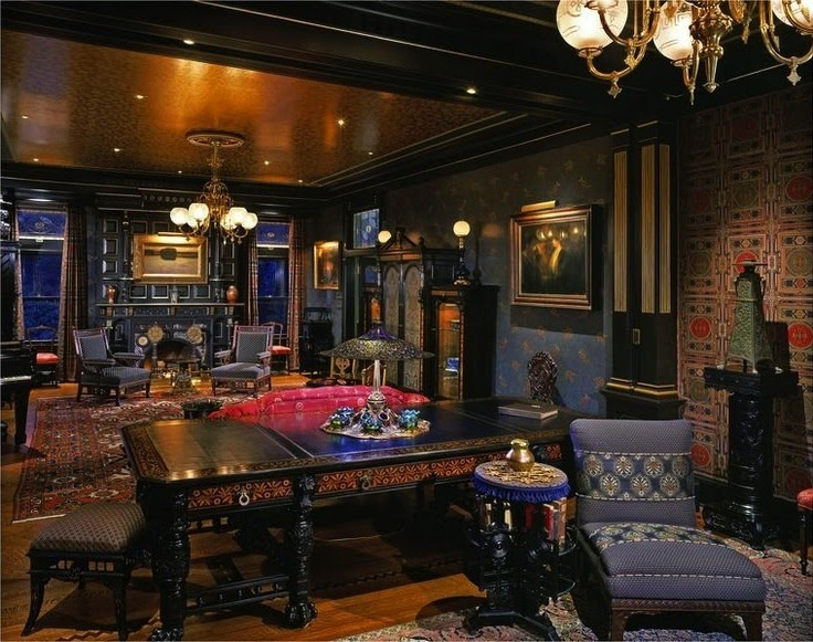 Victorian Gothic interior  Wow  Love the Egyptian flourishes. 17 Best ideas about Gothic Interior on Pinterest   Gothic kitchen