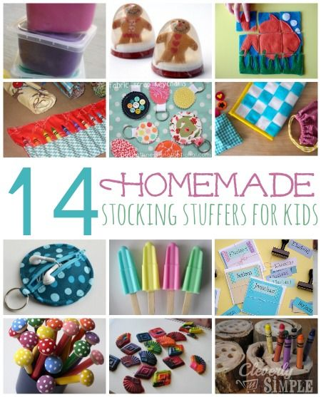 [pinit] I've been sharing an inexpensive stocking stuffer each day.  However, if you're in the mood to get your crafty on, here's 14 different homemade stocking stuffers for kids.  I browsed and browsed the internet to come up with some favorites.  Some are very simple to make (like the melted crayons) and some may take …