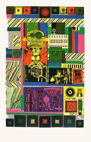"Eduardo Paolozzi ""Conjectures To Identity"" 1963"