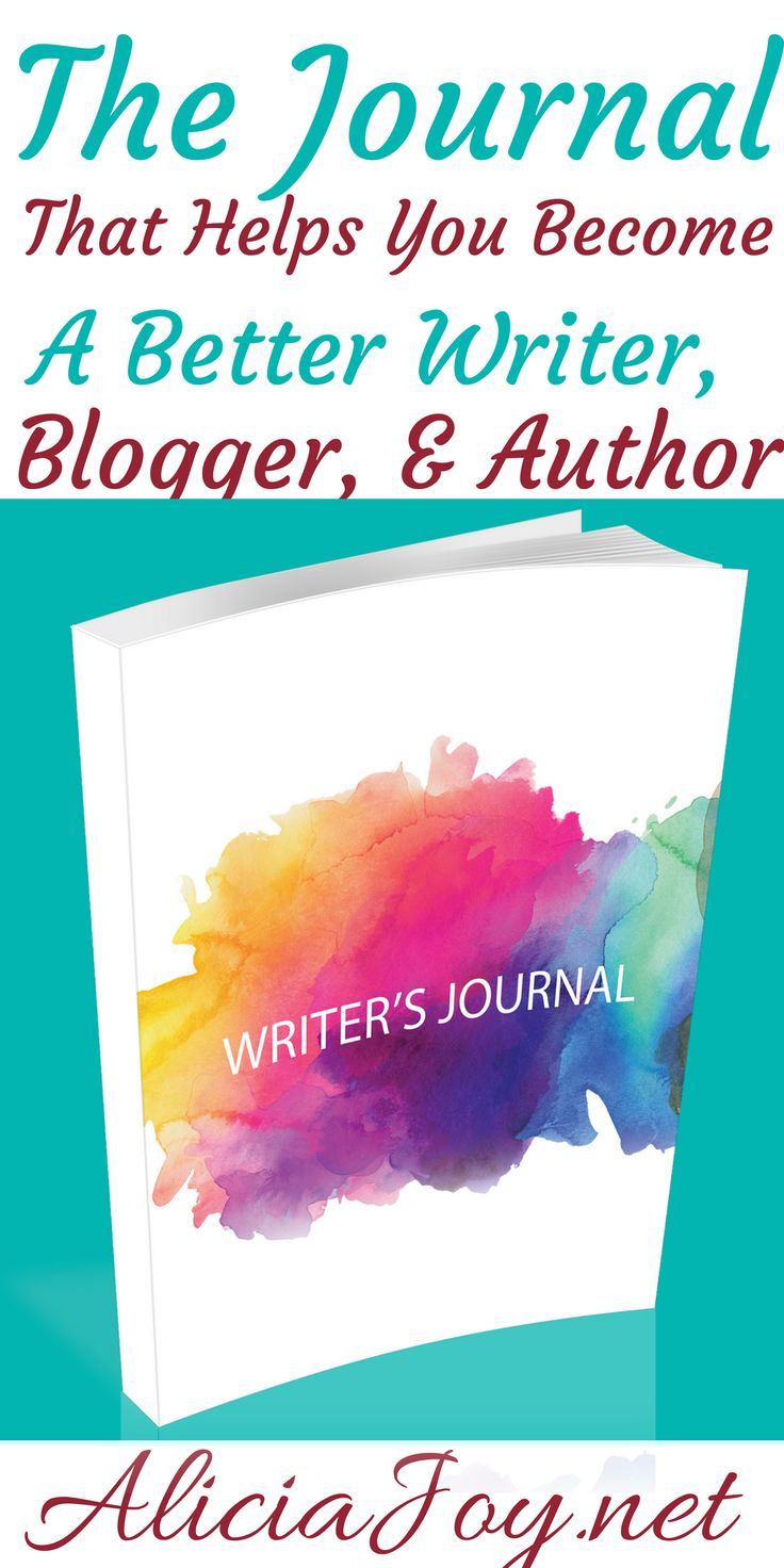 Looking to for a journal to help you develop your writing voice? You can use this journal to help you become a better writer, blogger, & author.