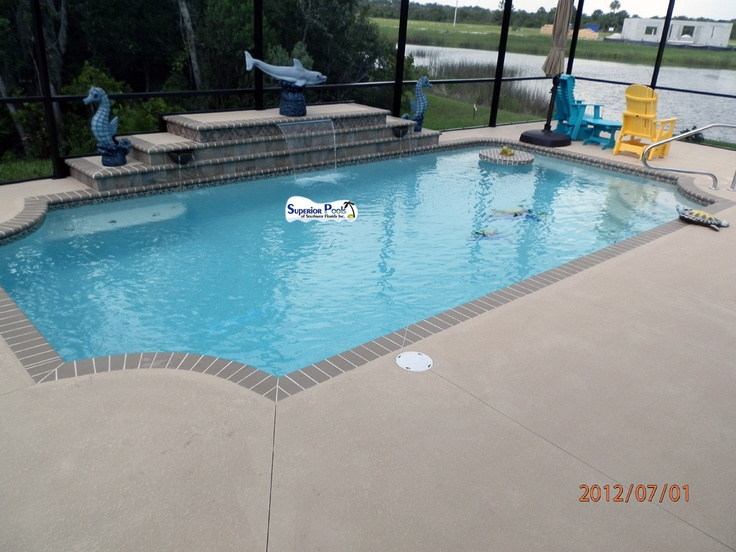 8 best images about new pools on pinterest swim my dad Swimming pool contractors fort myers florida