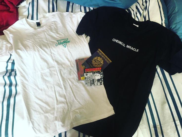 """24 Likes, 1 Comments - Anastasia Gryllis (@julietsvengeance) on Instagram: """"New merch just came in from @24hundrednet !!🔥🔥🔥 #merch #northlane #trophyeyes #chemicalmiracle…"""""""