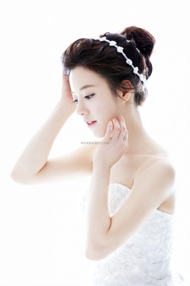 11 best korean wedding hair images on pinterest   hairstyles