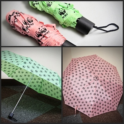Need little pandas in your umbrella? Get it now with the pink and light green for only IDR 75.000 @wwf_pandashop
