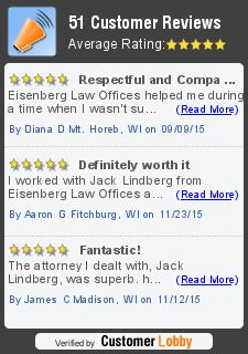 Are you looking for a car accident attorney in Wisconsin? Contact Eisenberg Law Offices. They will help you in claiming compensation for all damages and losses and also represent you in your car accident lawsuit. For free consultation, explore: eisenberglaw.org