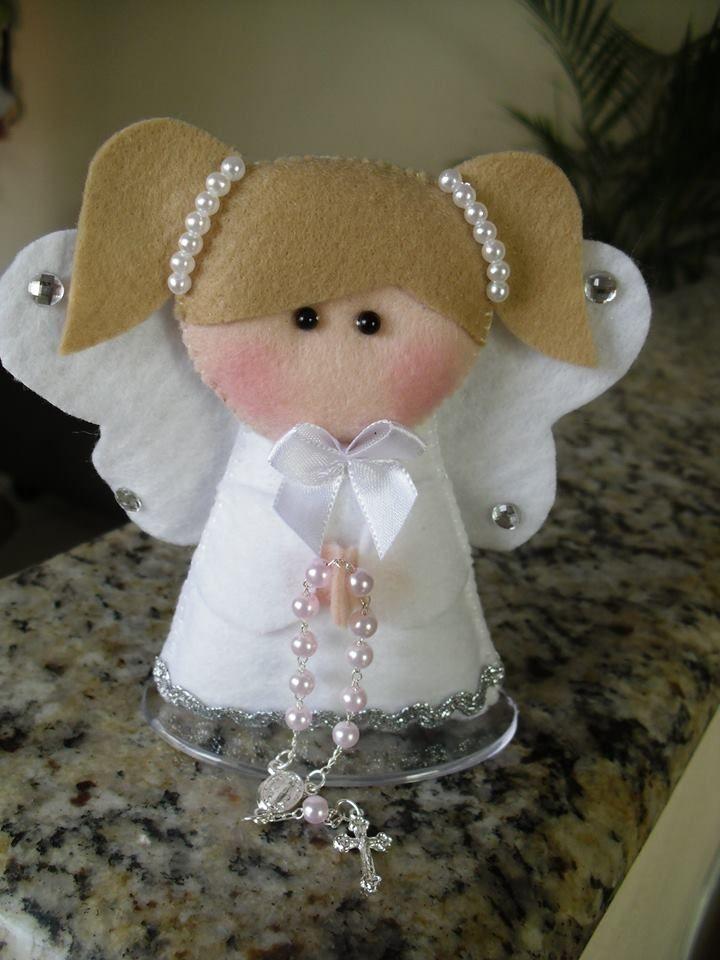 andělíček s růžencem...