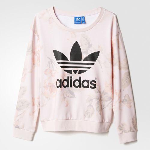 adidas Pastel Rose Sweatshirt - Multicolor | adidas US