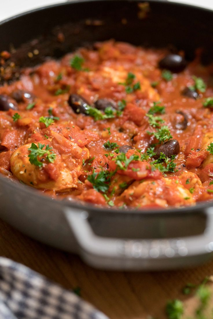 The one-pot paprika chicken dish is easy to make, super healthy and it's on repeat in the McJordan home.