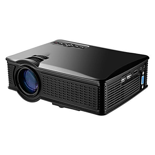 Portable Mini HD Projector 1080p 1500 Lumens LED Video Projector For Home Theater Movies Iphone Android iPad Tablet Via HDMI AV VGA USB SD >>> Continue to the product at the image link.