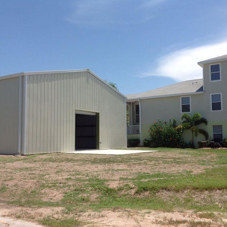 Big Garage In Florida 40' x 60' Metal buildings, Garage