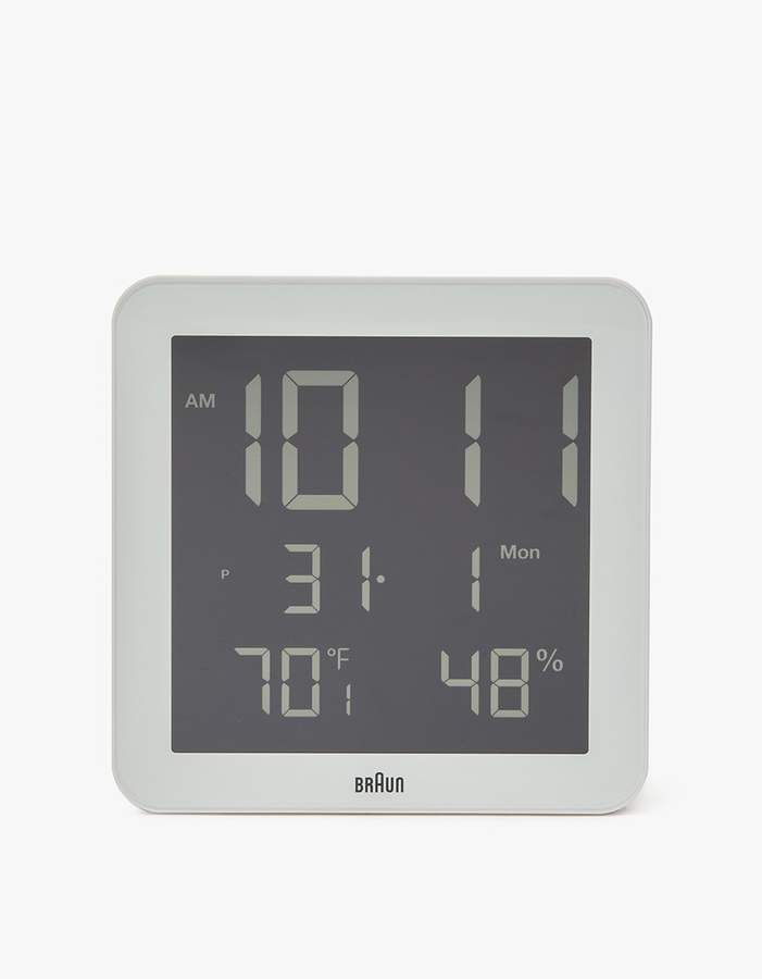"""EU 4/"""" LED Countdown/&CountUP stopwatch and Clock Red Color Hours Minutes IR Re..."""