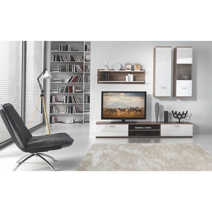 Obývací stěna WAW | Nábytek ATAN | Obývací pokoje
