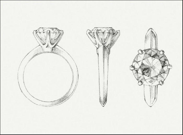 anello solitario trilogy veretta diamanti montatura tiffany