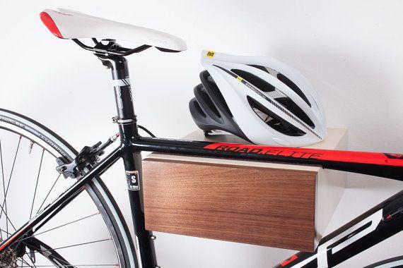 Bike rack Bike Wall Mount Bike shelf by WorldOfOurCubes on Etsy