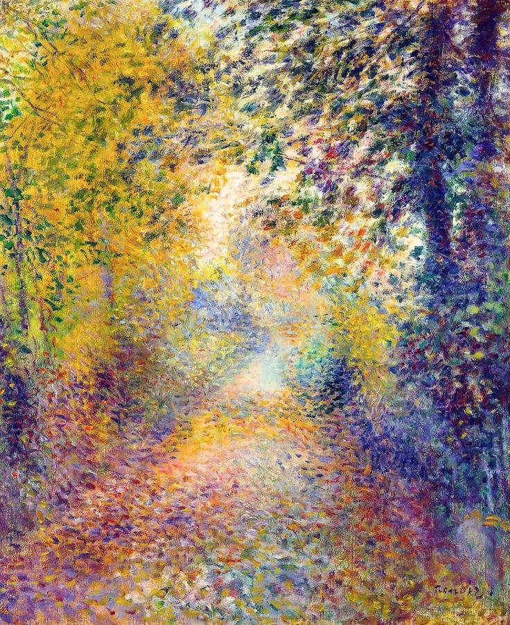 In the Woods, Renoir 1877, Fade Resistant HD Art Print in Art, Prints | eBay