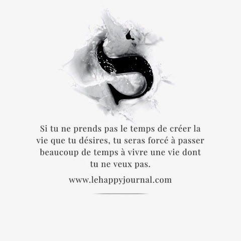 la citation du mercredi du happy journal!