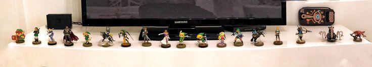 All Currently Released Zelda Amiibo!