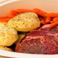 Easy summer slow cooker meals ...Always nice to not have to slave to eat in the heat of the summer
