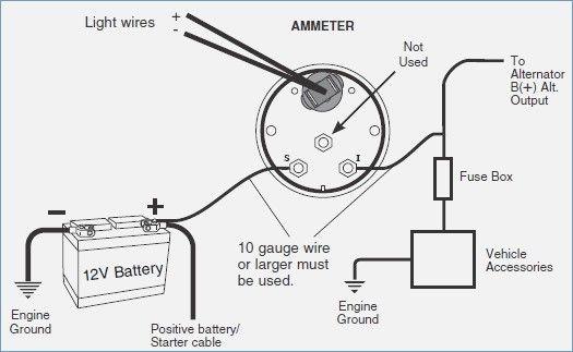 wiring volt gauge