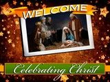 Image for service background Welcome Celebrating Christ