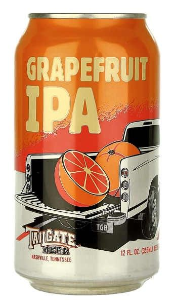 Tailgate Beer Grapefruit IPA Come and see our new website at bakedcomfortfood.com!