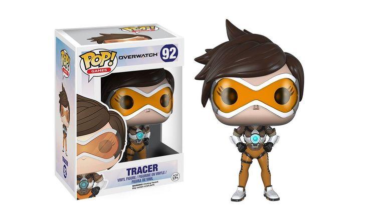 Trzeba komuśprzedstawiaćTracer z gry Overwatch? Świetna figurka dosłownie idealnie przedstawiająca tąpostać. #Overwatch #Funko