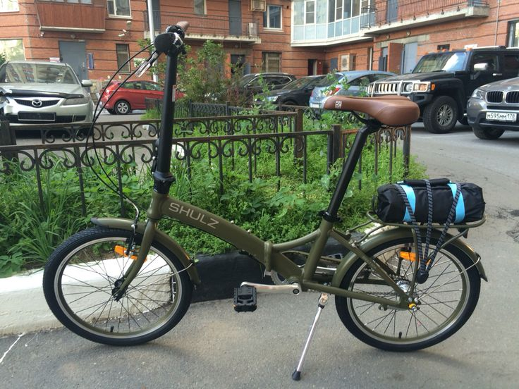 """Доставили клиенту складной городской велосипед Shulz GOA Coaster 2016 (ножной задний тормоз). 20"""" колеса, легкая алюминиевая рама, трех скоростная планетарная втулка, быстро и компактно складывается, в комплекте сумка-чехол, резинка на багажник и стяжка для колёс. Заказать такой же или другую модель Shulz вы можете по телефону 89052079274 или на сайте north-sport.ru #shulzgoa #shulzbikes #shulzbike #складнойвелосипед #велопитер #велосипед #веломагазин #northsport #north-sport"""