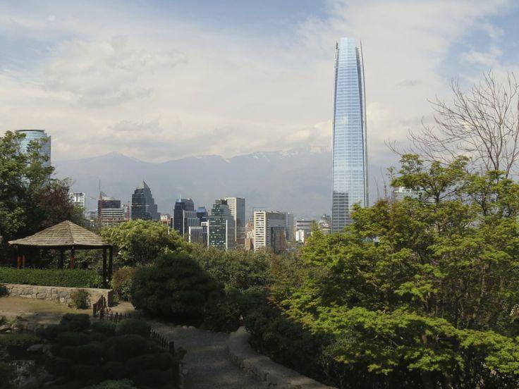Jardín Japonés Cerro San Cristobal.