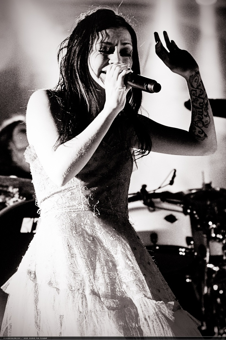 Lacey Sturm- an amazing woman who has inspired me to become the best that i can be. Flyleaf music saves!