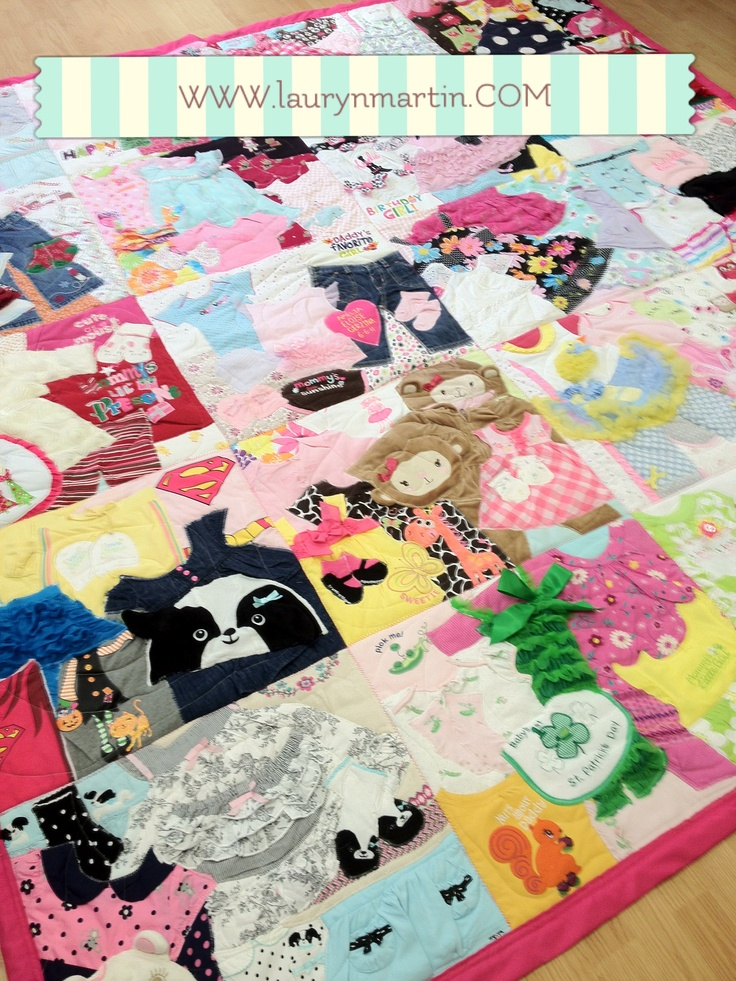 1st year quilt / Memory quilt