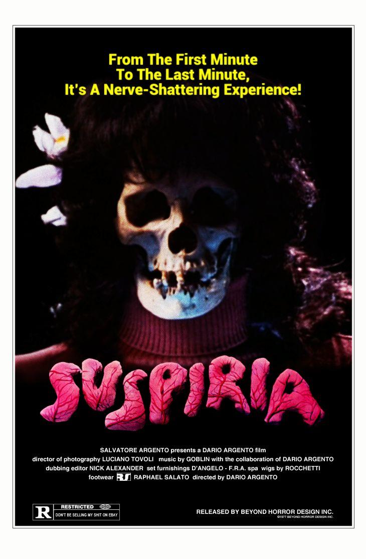 Original poster for the Dario Argento classic film!  ❤ Argento ❤