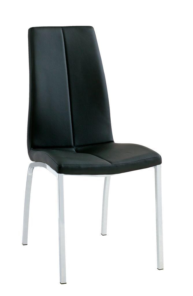 Ruokapöydän tuoli HAVNDAL musta/kromi   JYSK